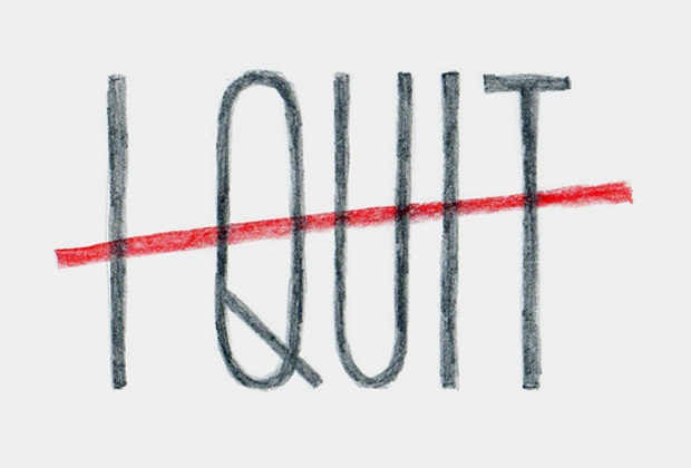 quit your own startup