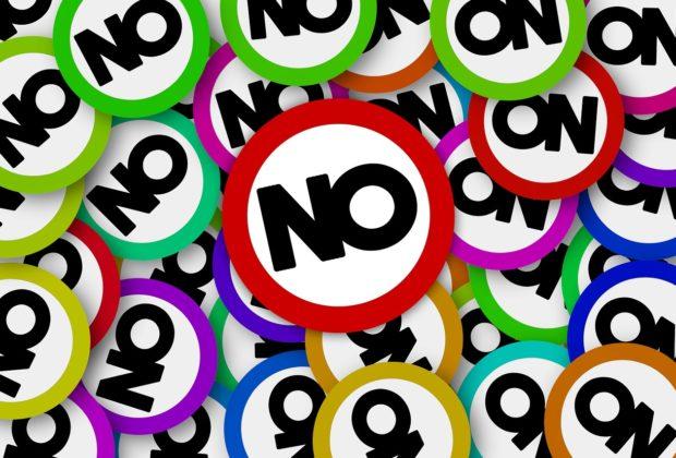 saying no say no