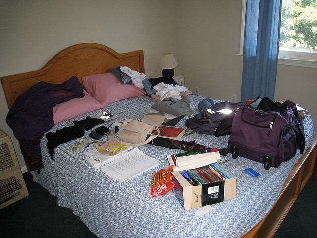 packing for trip